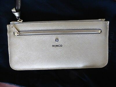 Mimco Supermicra Currency Wallet Pouch Brand New