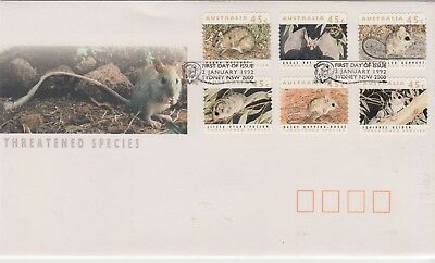 NEW YEAR SPECIAL!!!!!!AUSTRALIA 1993 Threatened Species First Day Cover ..