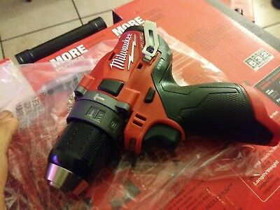 Milwaukee 2504-20 M12 FUEL 12-Volt Brushless 1/2 In. Hammer Drill (Tool-Only)New