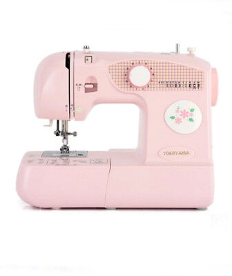 Pink Electric Sewing Portable Desktop Multifunction Mini Metal Frame Handheld