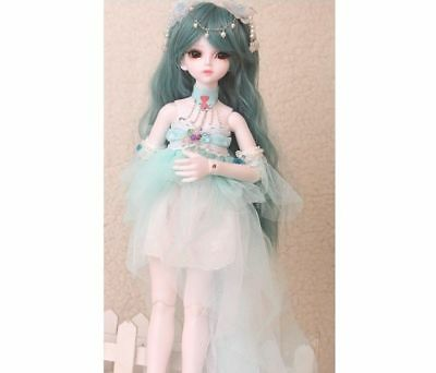 E01 1/4 Girl Super Dollfie Normal Skin Coordinate Model Fullset BJD Doll O