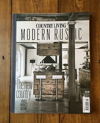 RARE Collectable COUNTRY LIVING MODERN RUSTIC Issue 2 INTERIORS BOOK Magazine