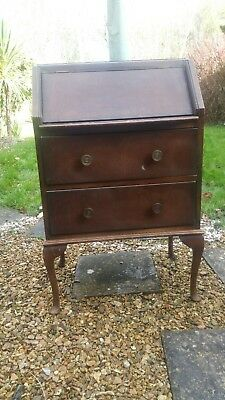 vintage writing desk bureau