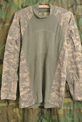 US Army OCP OEF ACU Multicam ACS Massif Combat Tactical shirt L Militär -5300
