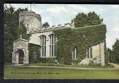 c1920s View: Hengrave Church, near Bury St. Edmunds