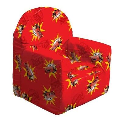 CARS Fauteuil Club Room - Rouge - Disney