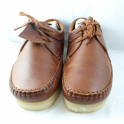 Mens Clarks Originals Tan Leather Lace up Casual Shoes UK Size  8*Ex Display
