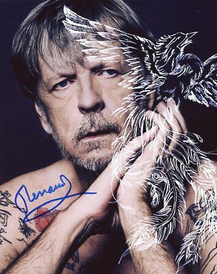 AUTOGRAPHE SUR PHOTO 20 x 25 de RENAUD (signed in person)