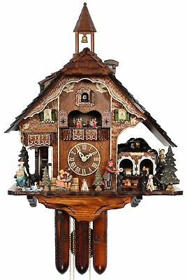 HerrZeit Cuckoo Clock - Next Stop Black Forest AH UK 70 8TMT NEW
