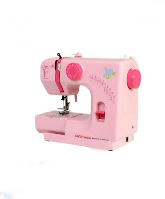 Pink Electric Metal Frame Mini Handheld Sewing Portable Desktop Multifunction