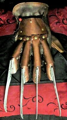 Freddy Krueger  Freddy Glove REAL METAL Handmade