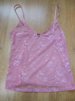 M&S Pink Camisole size 10 new without tags