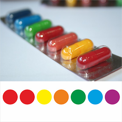 10 X 7 Colourful Easter Egg Dyes - Fast Delivery