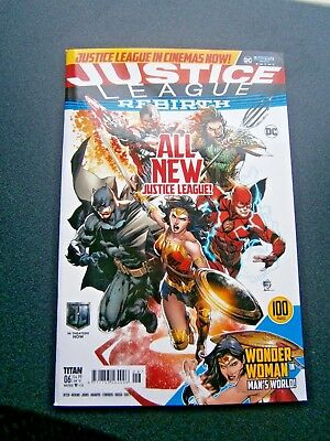Justice League Rebirth Comic Issue 6 January 2018 (new)