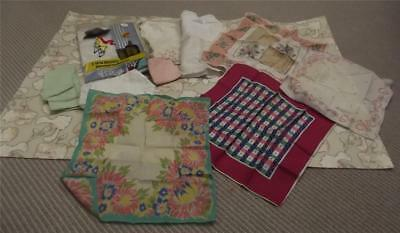 Joblot of Vintage Handkerchiefs