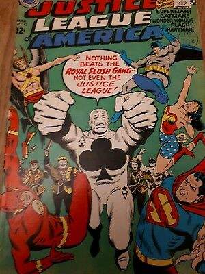 Justice league of America no 43. 1st royal flush