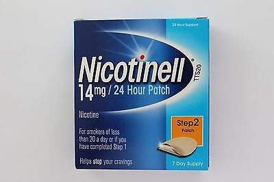 Nicotinell Nicotine 14mg 24H Patch Step 2 - 7 Day Supply