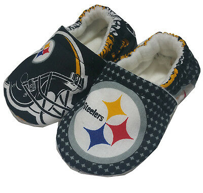 Pittsburgh Steelers baby boys girl women Men Shoes Slippers 0- 24 M Gift 3T-5T