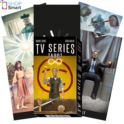 Tv Series Tarot Cards Deck Davide Corsi Esoteric Telling Lo Scarabeo New