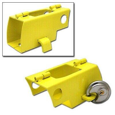 UNIVERSAL HITCHLOCK CARAVAN TRAILER HITCH COUPLING LOCK HIGH SECURITY cw PADLOCK