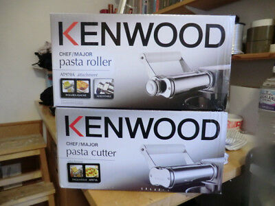 kenwood chef/major AT970A PASTA ROLLER AND AT971A PASTA CUTTER NEW AND BOXED