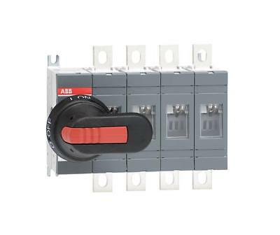 ABB 200A 4 Pole Isolator including 210mm Shaft & Black/Red Handle