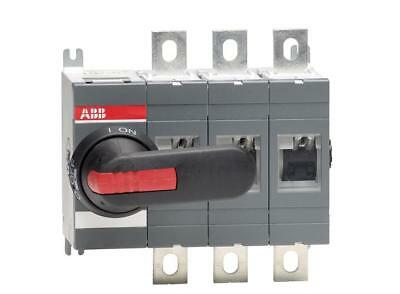 ABB 400A 3 Pole Isolator including 185mm Shaft & Black/Red Handle