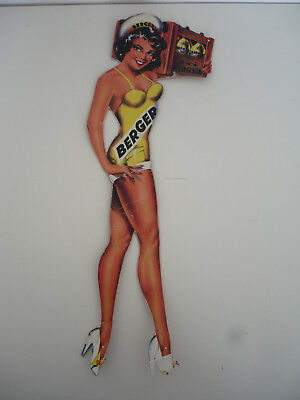 ANCIENNE PIN UP BERGER DECO BAR 50-60's