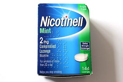 Nicotinell Mint 2mg Compressed Lozenge - 144 Lozenges (Slightly Damaged Box)