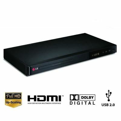 LG DP542H Multi Region All Regions 1080p Full HD DVD Player Free With HDMI Cable