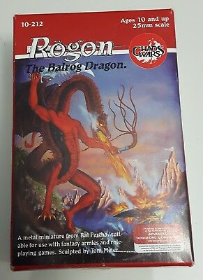 Ral Partha Rogon The Balrog Dragon *Excellent Condition*