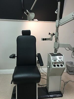 Optometry Optician Chair and Stand BURTON Deluxe Model 2001