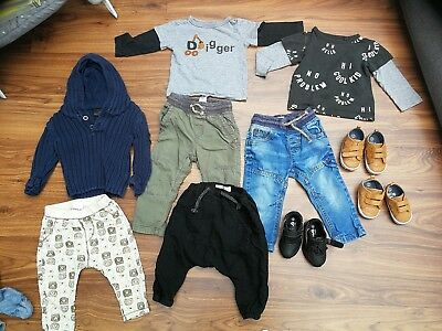 Baby boy clothes 9-12 months. Zara, Next, mini club, mothercare....