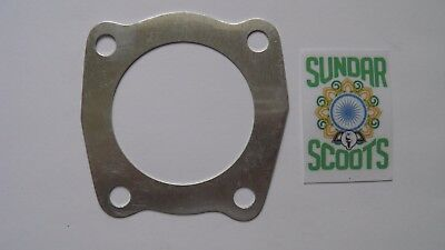 125 cc CYLINDER HEAD METAL GASKET. SUITABLE FOR LAMBRETTA SCOOTERS
