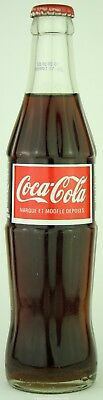 Unopened Mauritius 2001 Coca-Cola ACL glass bottle 300 ml