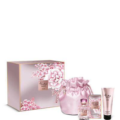 Pomellato Nudo Rose Eau De Parfum 40 Ml + Cosmetic Bag + Body Lotion 100 Ml