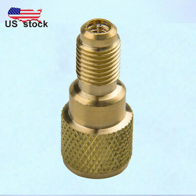 """1*R134a Brass Adapter 1/4"""" Male to 1/2"""" ACME Female Charging Hose to Vacuum Pump"""