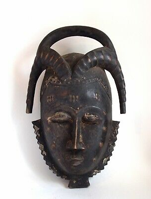 Fine old African wood mask