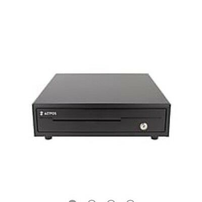 AZT POS PCD-358 13-inch compact cash drawer ideal for desktop and tablet systems