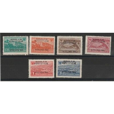 1946 Albania Constituent Assembly 4 Val Mnh Mf51363