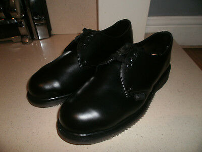 """Vtg 70s Dr Martens Safety Shoes Size 8 """"Made In England"""" NOS"""