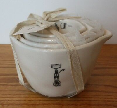 Wonderful New Rae Dunn For Magenta Farmhouse Measuring Cups Set Of 4 Icon