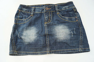 Only Farella Mini Skirt Rock Jeans Minirock Gr.38 blau stonewashed used look TOP