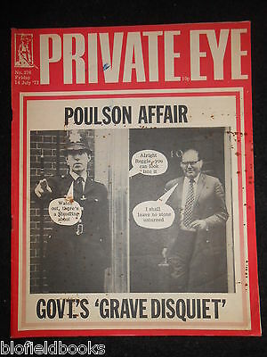 PRIVATE EYE - Vintage Satirical Political News Humour Magazine - 14th July 1972