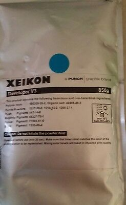 Printer 850g Developer V3 Blue Xeikon a Punch/graphix brand