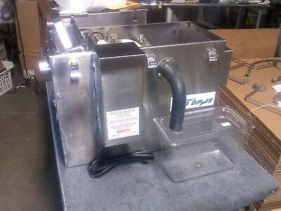 Fully Refurbished Thermaco Big Dipper W-350-IS Automatic Grease Trap 2000series