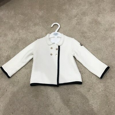 Baby Girls Moncler Jacket Coat Cardigan Age 18-24 Months