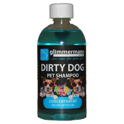Glimmermann Dirty Dog Pet Shampoo Animal Clean Grooming Puppy Fresh Conditioner