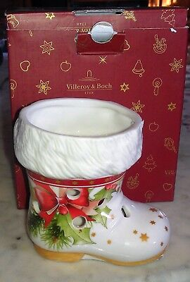 Villeroy & Boch Windlicht Stiefel 10 cm Christmas Light