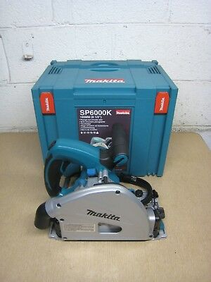 "New Makita SP6000K SP6000 6-1/2"" 165MM 120V 12A Plunge Cut Track Circular Saw"